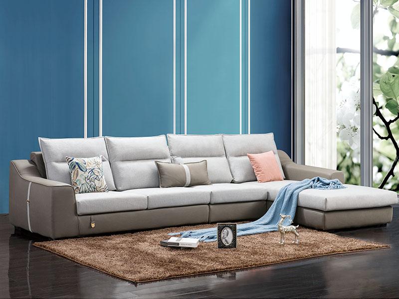 软体家具-休闲布艺沙发3