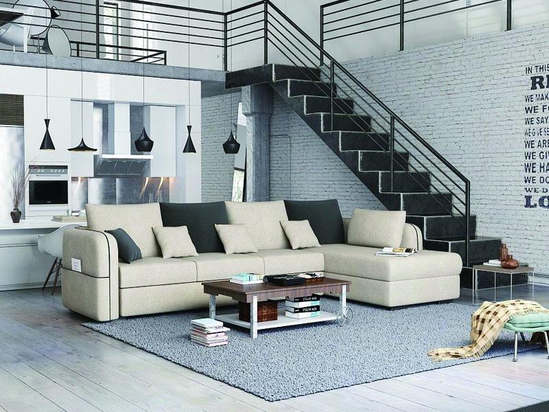休闲布艺沙发