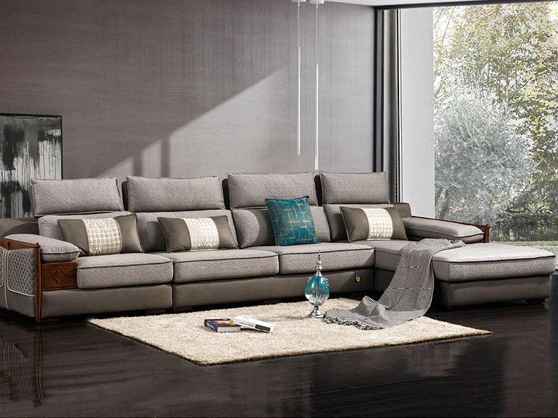 软体家具-休闲布艺沙发14