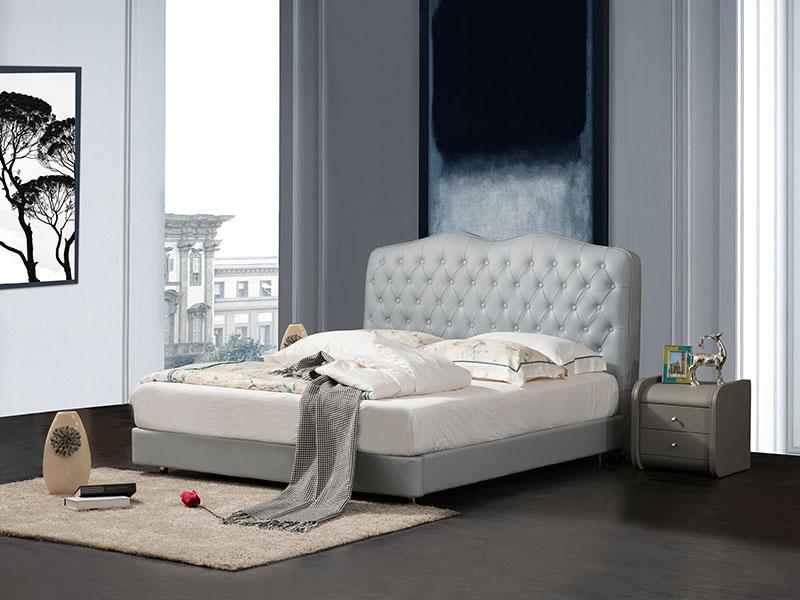 软体家具-真皮软床7