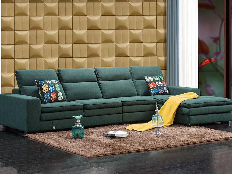 软体家具-休闲布艺沙发2