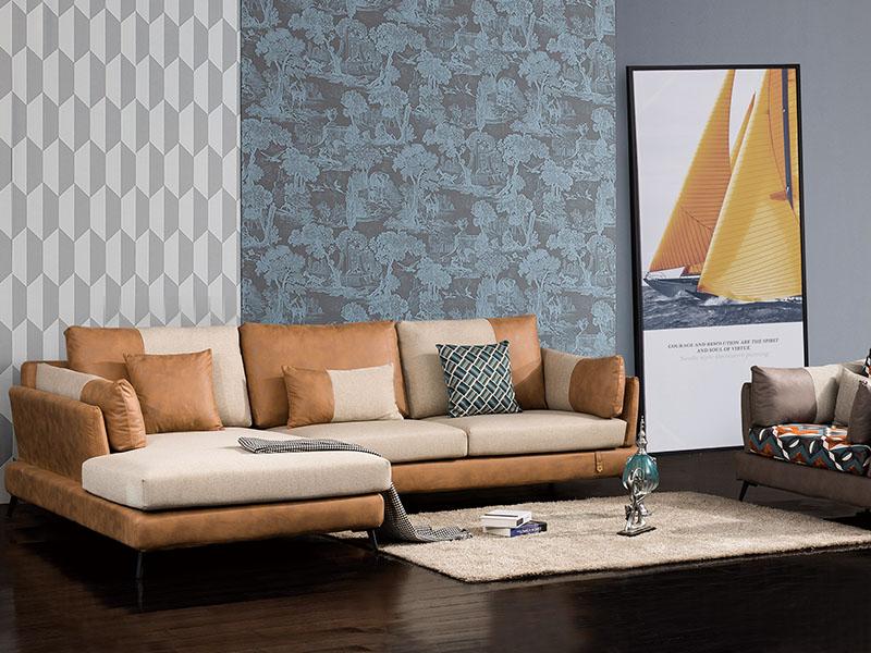 软体家具-休闲布艺沙发18