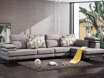 休闲布艺沙发工程案例