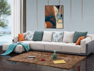 软体家具-休闲布艺沙发12