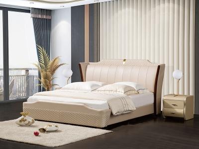 软体家具-真皮软床2